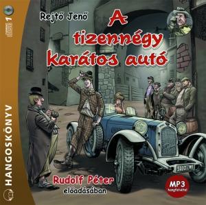 A tizennégy karátos autó - hangoskönyv