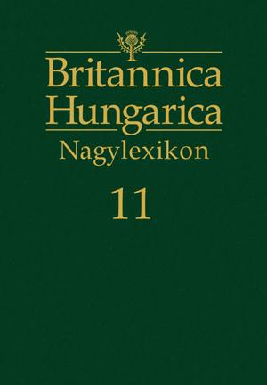 Britannica Hungarica Nagylexikon11. kötet