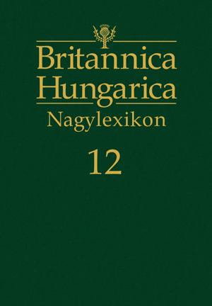 Britannica Hungarica Nagylexikon12. kötet