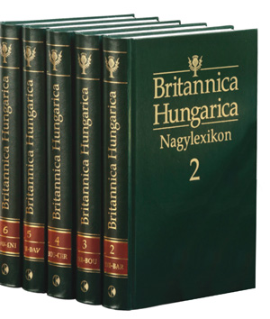 Britannica Hungarica Nagylexikon 1-12. kötet