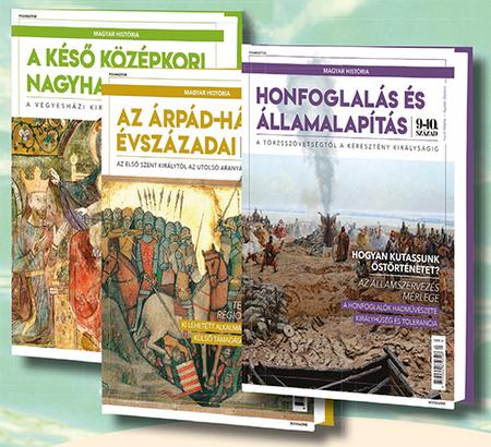 Magyar história sorozat 1-7. kötet (keménytáblás)