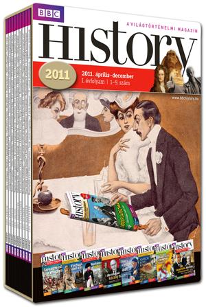 BBC History magazin,I. évfolyam díszdobozban