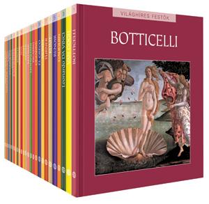 Világhíres festők sorozat, 1-26. kötet