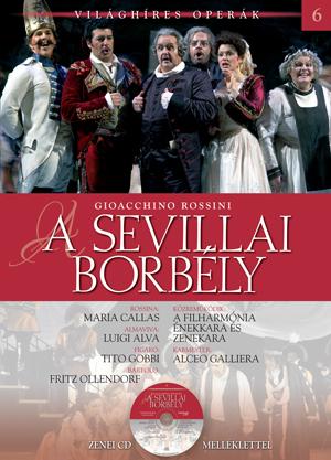 Világhíres operák sorozat, 6. kötet -A sevillai borbély