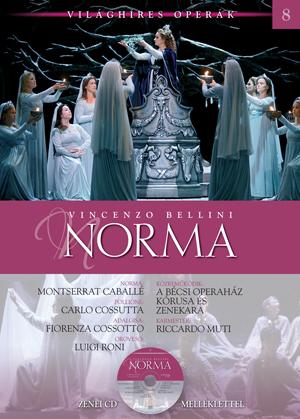 Világhíres operák sorozat, 8. kötet -Norma