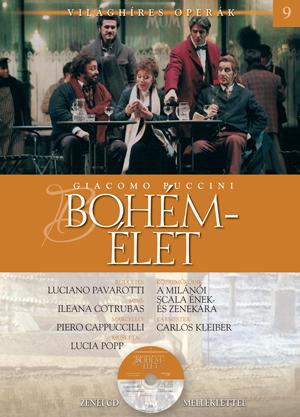 Világhíres operák sorozat, 9. kötet -Bohémélet