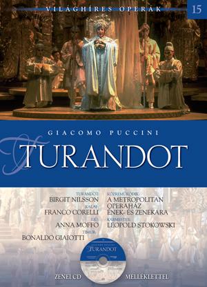 Világhíres operák sorozat, 15. kötet -Turandot