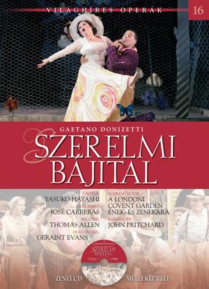 Világhíres operák sorozat, 16. kötet -Szerelmi bájital