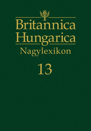 Britannica Hungarica Nagylexikon13. kötet