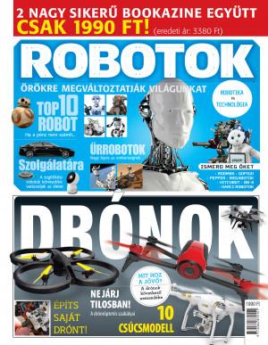 Drónok + Robotok - Bookazine