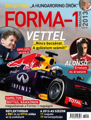 FORMA-1 magazin 2013 - Bookazine