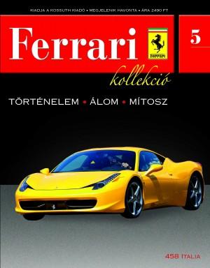 Ferrari kollekció 5. szám – 458 Italia
