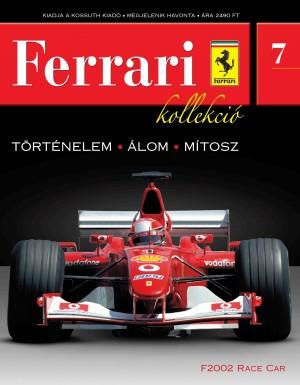 Ferrari kollekció 7. szám – F2002 Race car