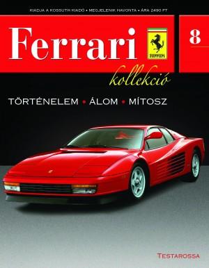 Ferrari kollekció 8. szám – Testarossa