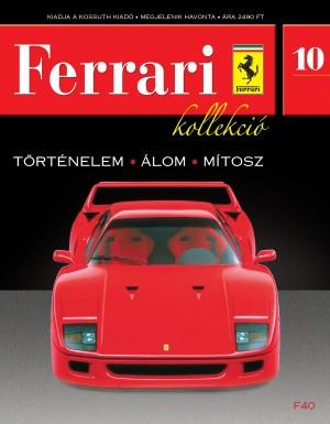 Ferrari kollekció 10. szám – F40