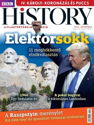 BBC History - VI. évfolyam, 12. szám (2016. december)