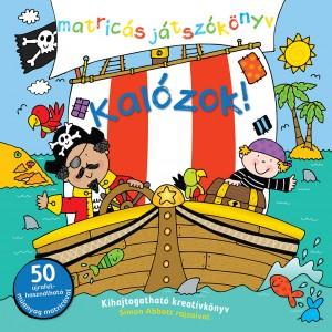 Kalózok! – Matricás játszókönyv