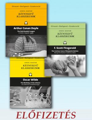Kétnyelvű klasszikusok sorozat előfizetés 2-12. kötet