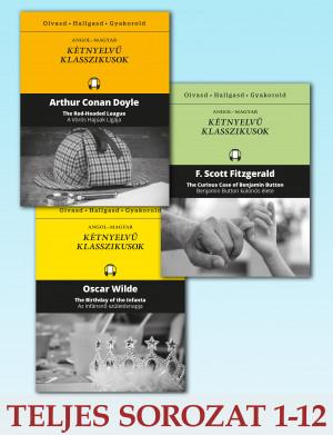 Kétnyelvű klasszikusok sorozat 1-12. kötet