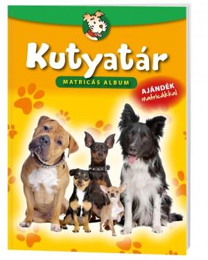 Kutyatár matricás album