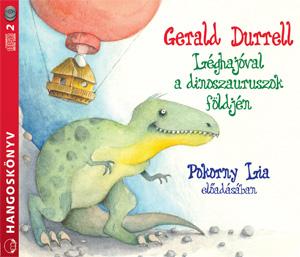 Léghajóval a dinoszauruszok földjén - hangoskönyv
