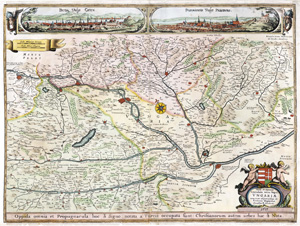 Magyarország 1657 - reprint térkép