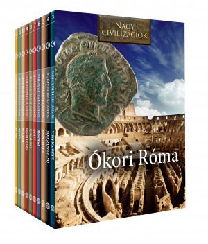 Nagy civilizációk sorozat előfizetés 3-12. kötet