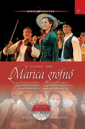 Híres operettek sorozat, 6. kötet Marica grófnő