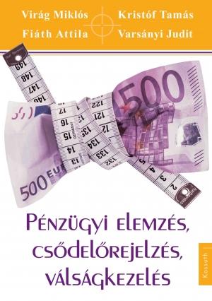 Pénzügyi elemzés, csődelőrejelzés, válságkezelés