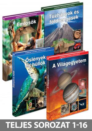 Természettudományi enciklopédia sorozat 1-16. kötet