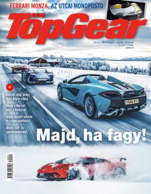 BBC TopGear magazin - II. évfolyam, 1. szám (2018. december - 2019. január)