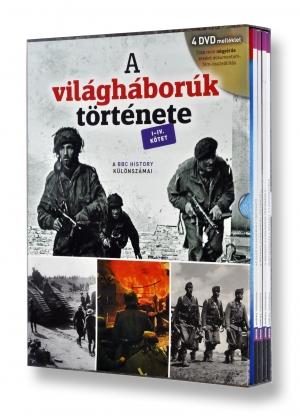 A világháborúk története I-IV. kötet