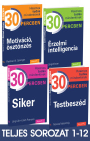 Hasznos tudás mindenkinek 30 percben sorozat 1-12. kötet