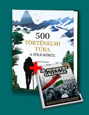 500 történelmi túra a Föld körül + A magyar október - Bookazine