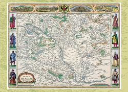 Magyarország régi térképeken előfizetés 1. rész - John Speed Magyarország-térképe (1626)