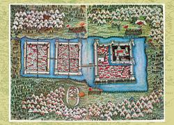 Magyarország régi térképeken 4. rész - Buda, Magyarország fővárosa  (1617)