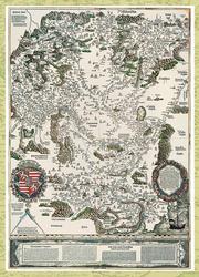Magyarország régi térképeken 5. rész - Lázár deák térképe (1528)
