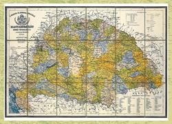 Magyarország régi térképeken 6. rész - A Magyar Szent Korona országai (1881)