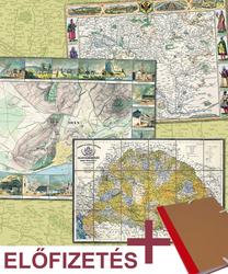 Magyarország régi térképeken előfizetés 1-6. rész + gyűjtő mappa
