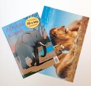 Afrikai állatok - kifestőkönyvVarázslatos 3D-s kép ajándékba!