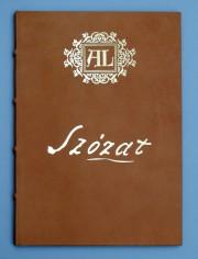 Szózat - bőrkötésben (Amor Librorum)