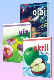 Akril, víz, olaj – Festőiskola csomag