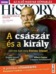 BBC History - VI. évfolyam, 11. szám (2016. november)