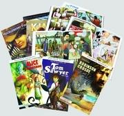 Klasszikusok képregényben sorozat, 1-12. kötet