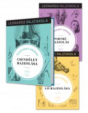 Leonardo rajziskola Bookazine sorozat 1-12. kötet