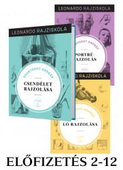 Leonardo rajziskola sorozat előfizetés 2-12. kötet (keménytáblás)
