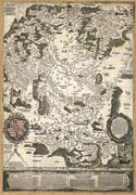 Magyarország 1528 - reprint térkép