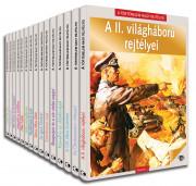 A történelem nagy rejtélyei II. sorozat előfizetés 2-15. kötet